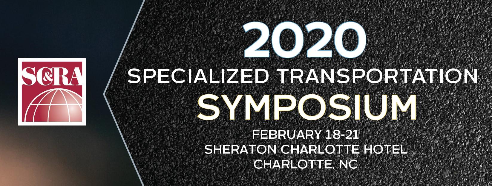 2020 Specialized Transportation Symposium