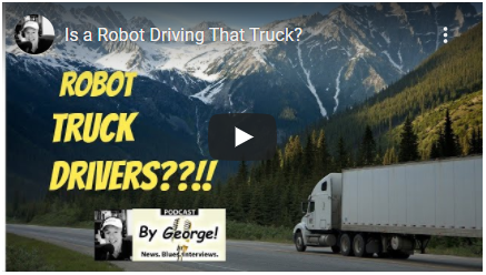 Is A Robot Driving That Truck?