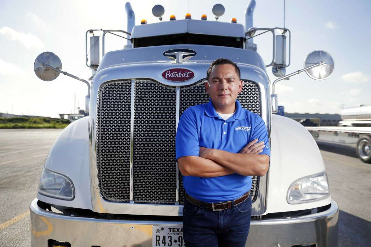 HOUSTON CHRONICLE: The Texas economy is booming, leaving big rigs in a bind for places to park