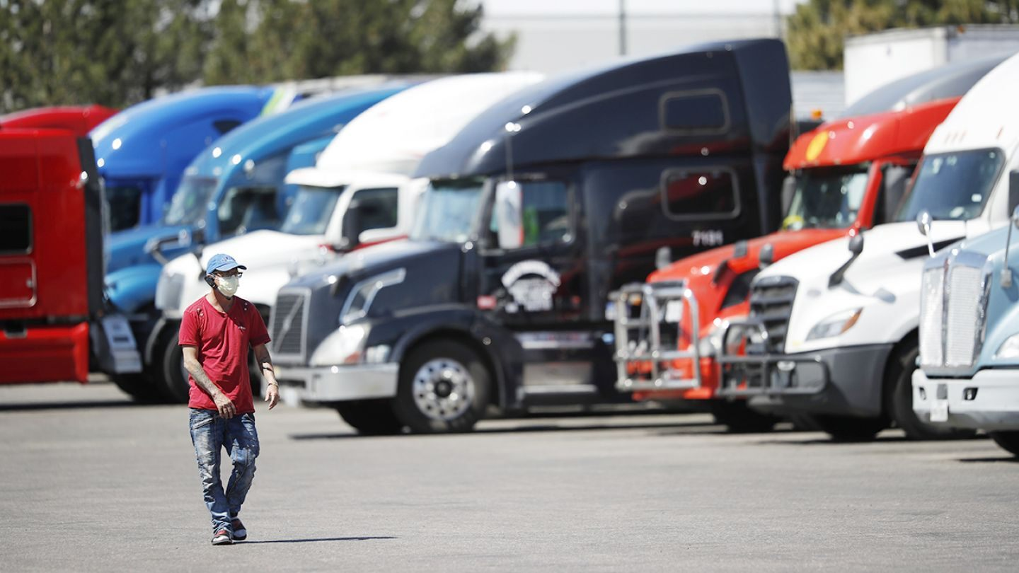 FOX BUSINESS: Coronavirus-induced low shipping rates a 'one-way ticket out of business' for some truckers